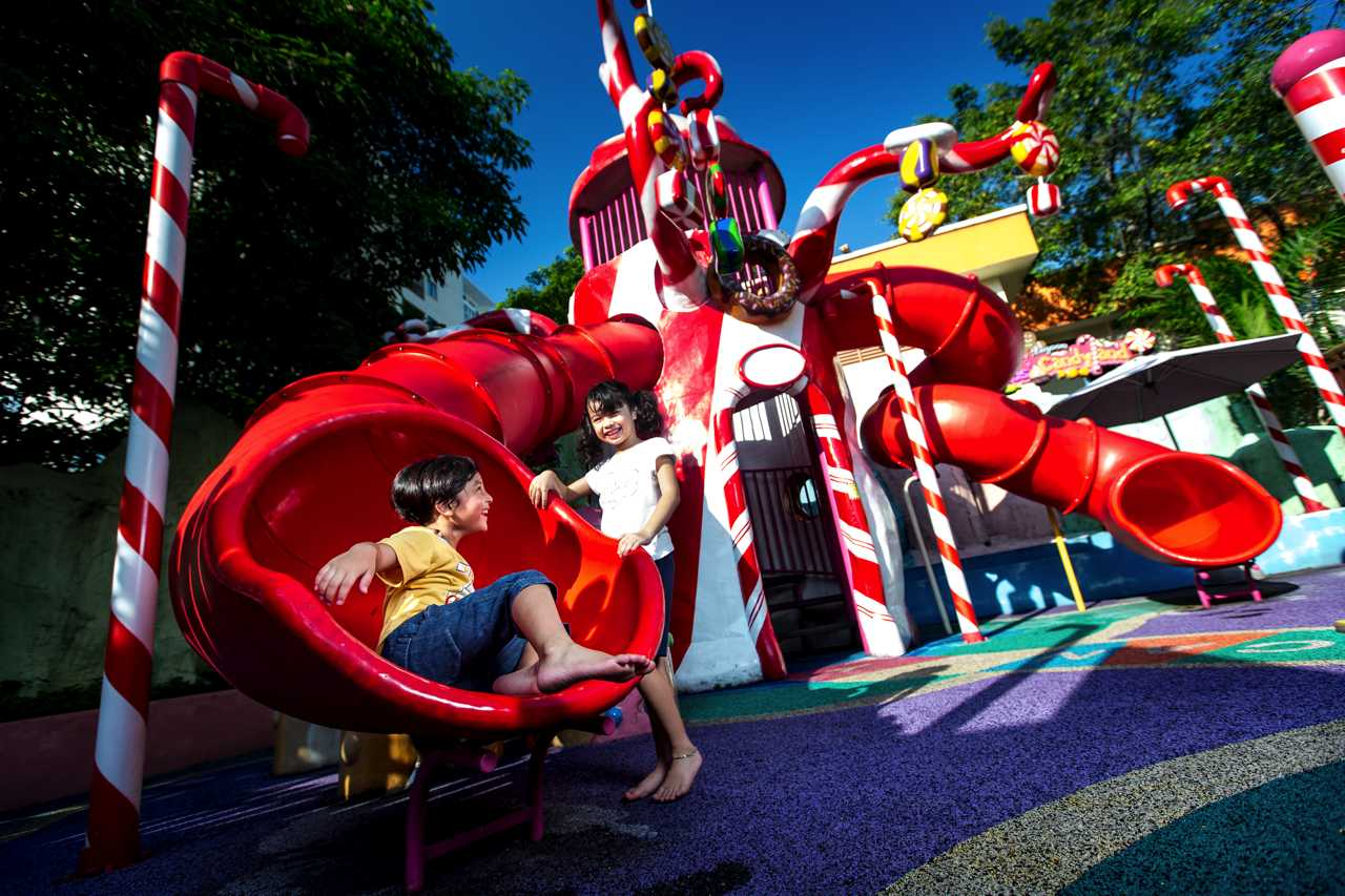 Captain Kid's Candyland - Amusement Park at Sunway Lagoon Theme Park