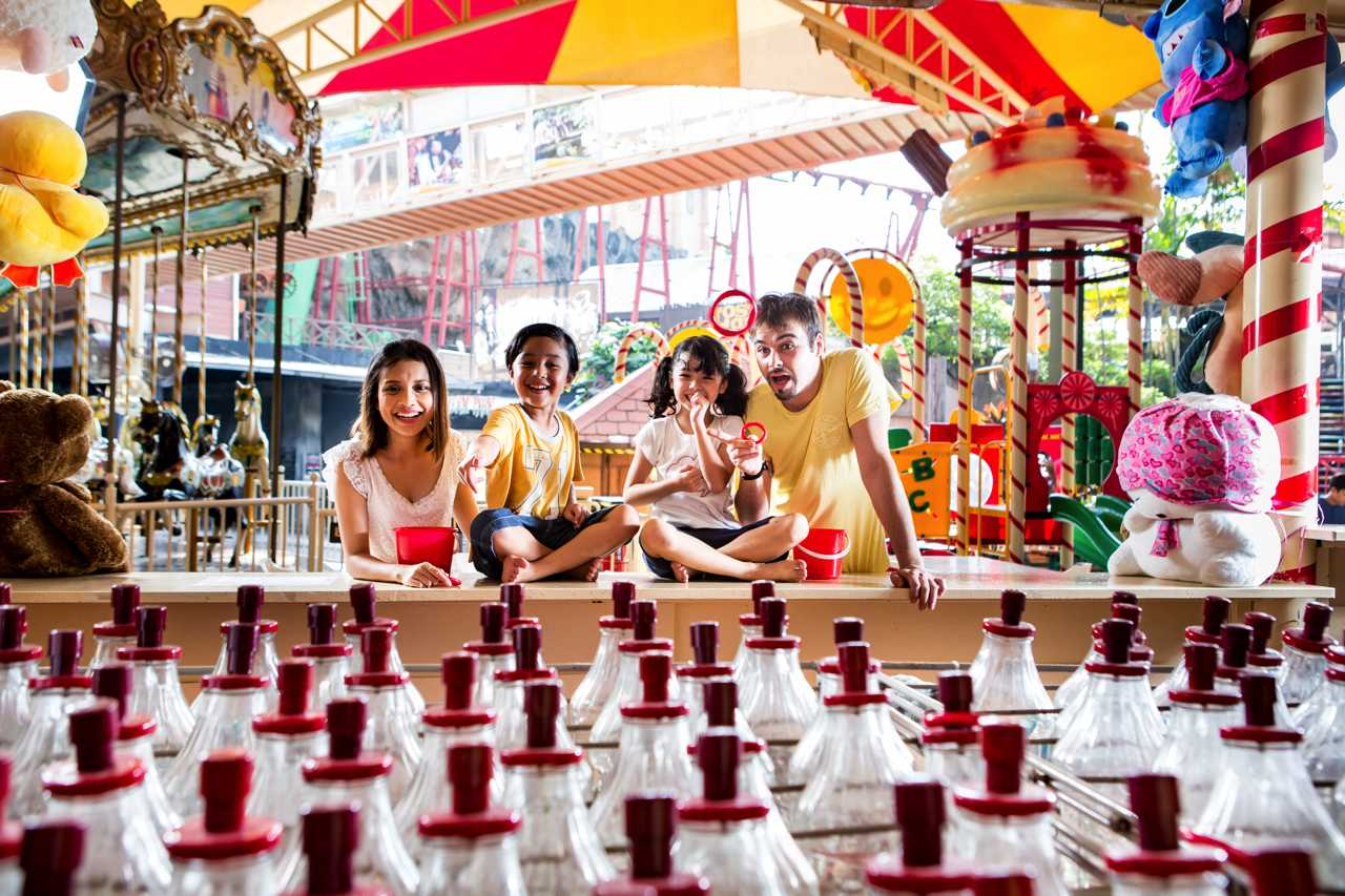 Fun World - Amusement Park at Sunway Lagoon Theme Park