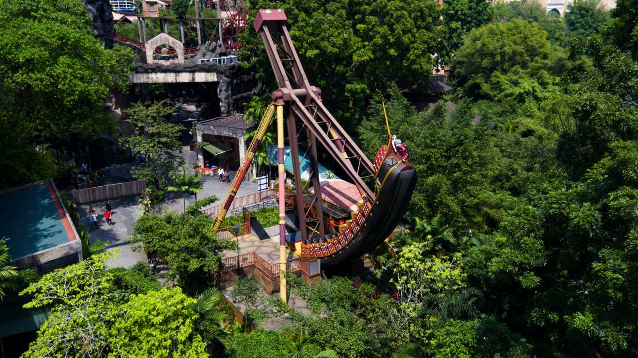 Pirate's Revenge - Amusement Park at Sunway Lagoon